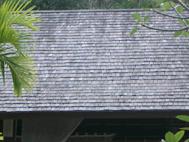 ウリン瓦屋根