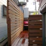 追加施工のフェンス2