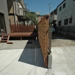 フェンスの追加施工2