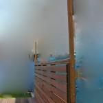 ターフ用柱追加施工2