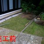 庭全面のデザインデッキ1
