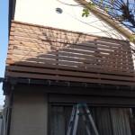 屋根上デッキのリニューアル1